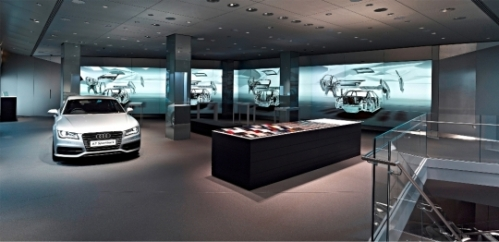 Audi City London interior