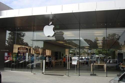Apple store trademarked design
