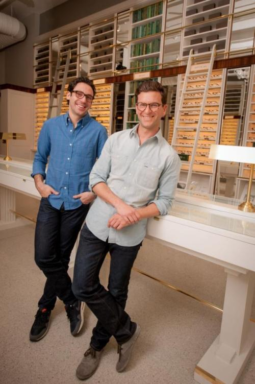 Founders Neil Blumethal and David Gilboa